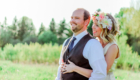 Wisconsin Meadow Country Wedding Photography