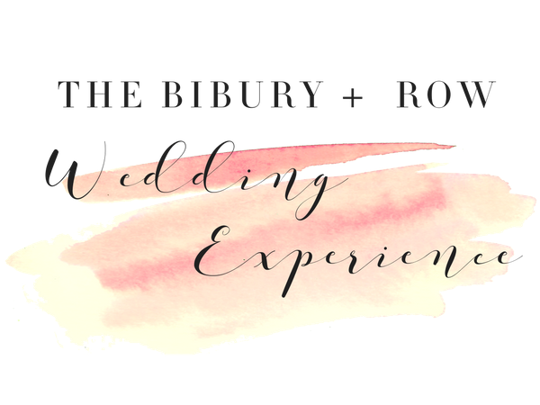 The Bibury + Row Wedding Experience