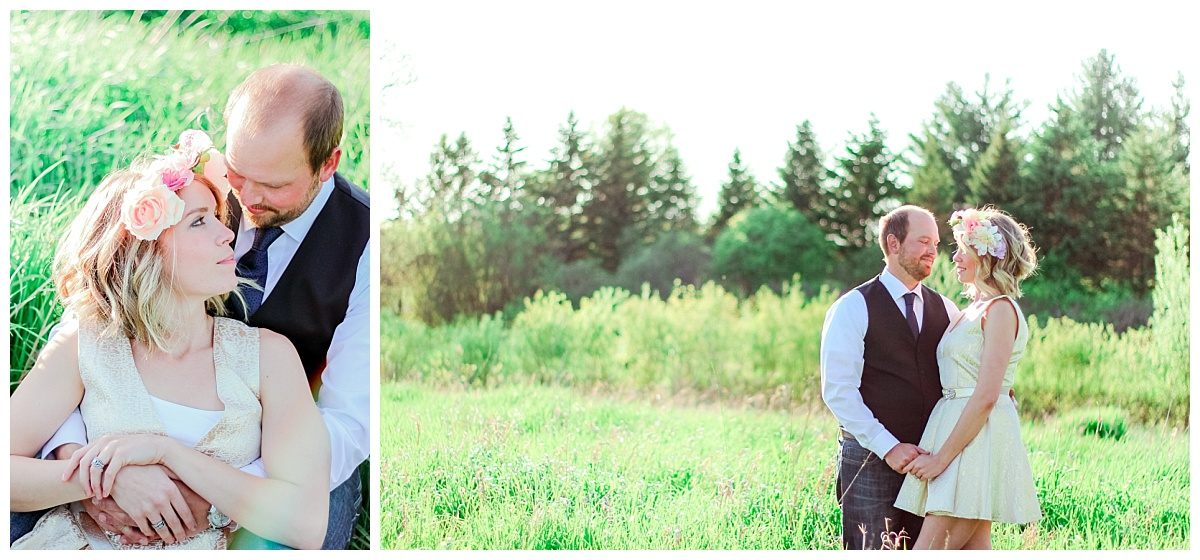 Ethereal Meadow Engagement Session in Wisconsin by BIBURY + ROW