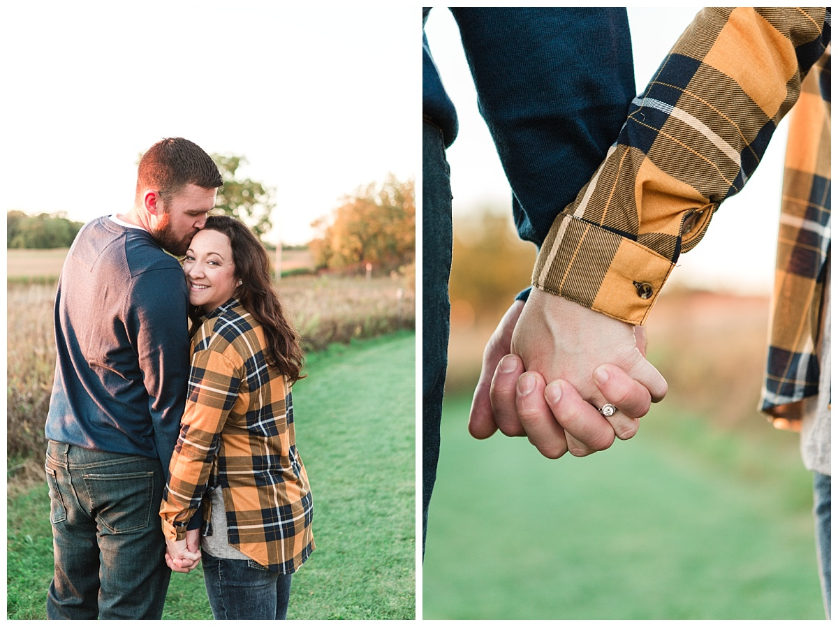 Autumn Engagement at Dorothy Carnes Park by BIBURY + ROW
