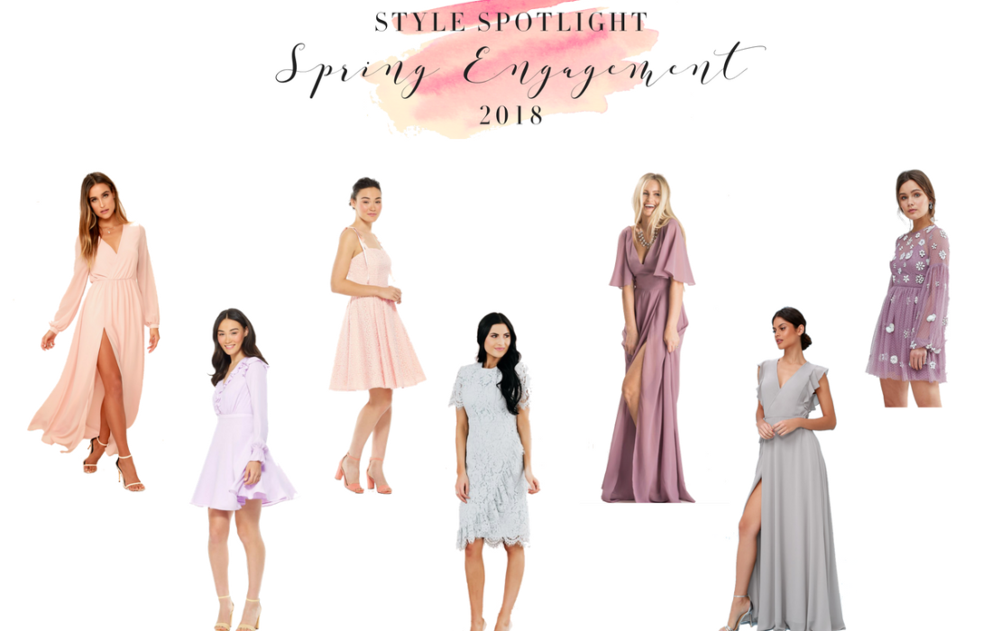 Spring Engagement Style for 2018 | Bride-to-Be Style Series