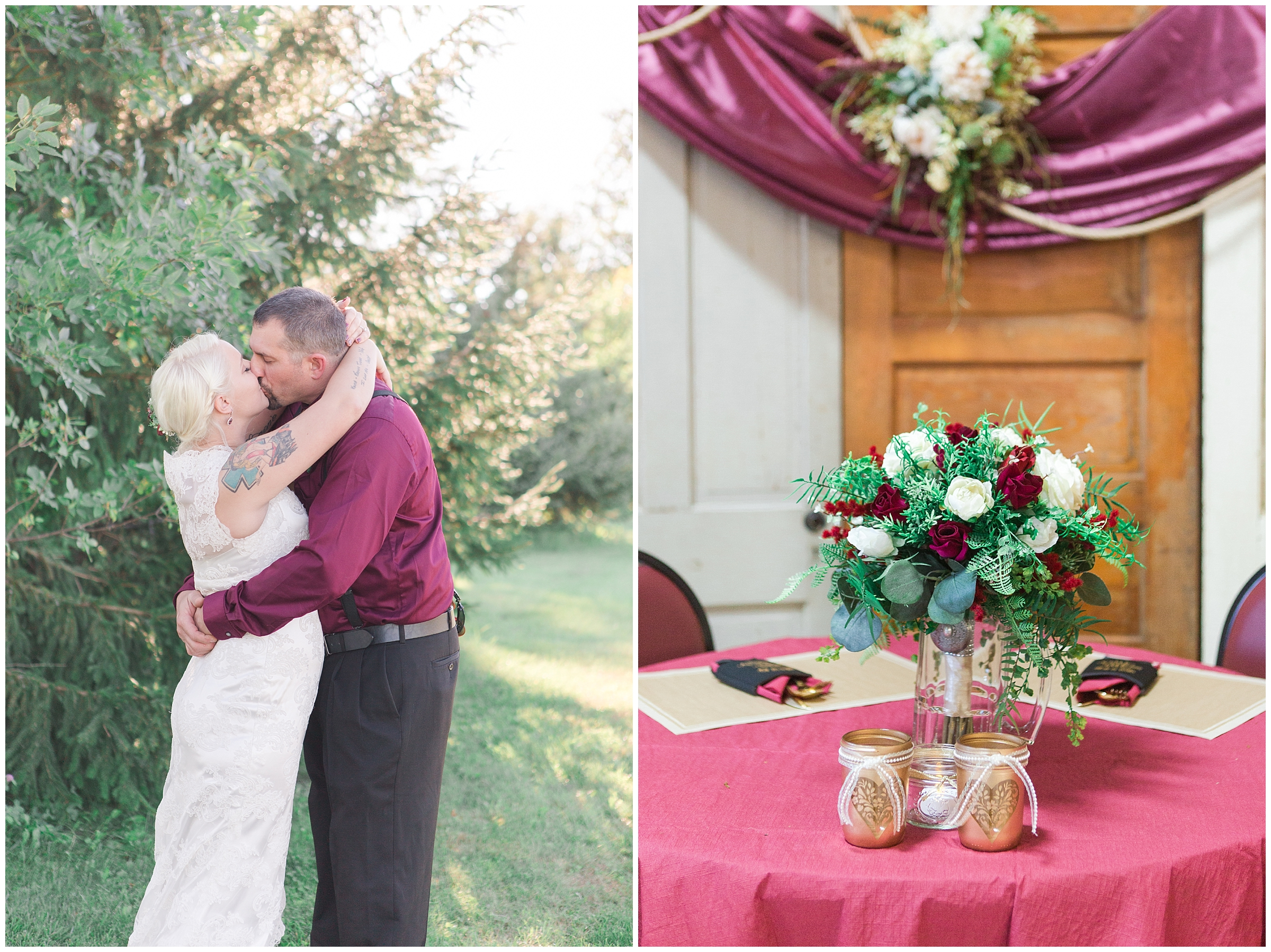 Autumn Rustic Country Wedding in Wisconsin