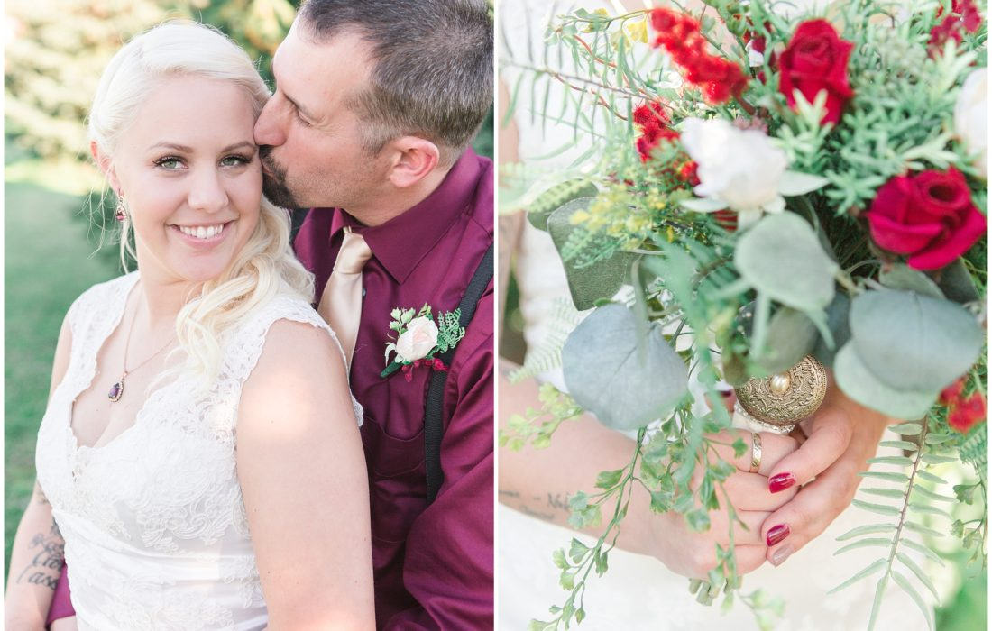 Karissa & Eugene | Rustic Autumn Country Wedding in Cambria