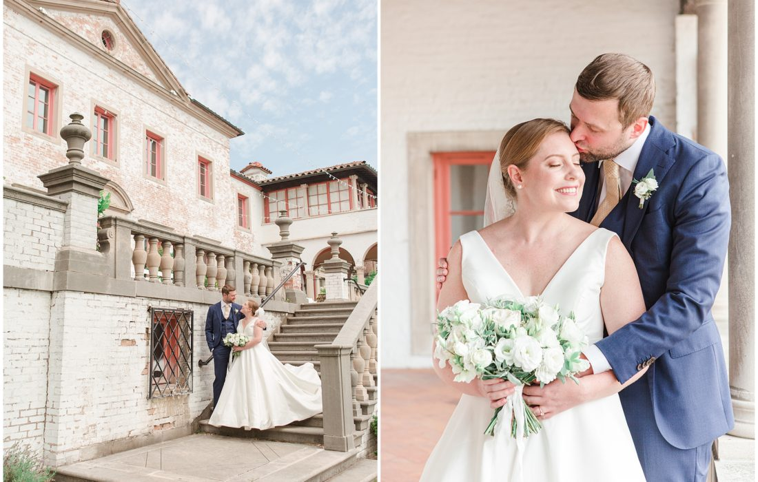An Elegant Ivory Wedding at Villa Terrace in Milwaukee